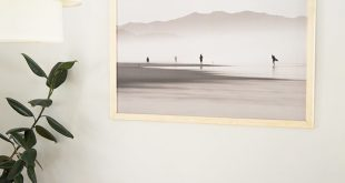 DIY Large Scale Print Wood Frame
