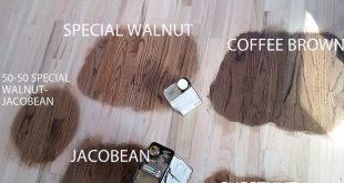 Duraseal Stain on Red Oak Wood Flooring. Chestnut, Jacobean, Coffee Brown, Speci...