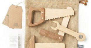 Fanny & Alexander Heirloom Wooden Tool Set #babytoys