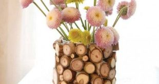 How to: Make a Flower Vase Using Branches from Your Backyard