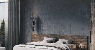 Inspired Spaces | Bedrooms | Reclaimed Wood Headboard | Reclaimed Wood Bed Frame