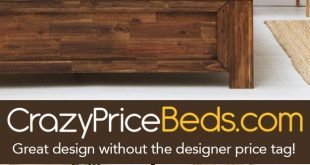 Plumley Rustic Teak Chunky Dark Wooden Farmhouse Bed Frame - Double / King Size