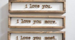 Simple, rustic wood frames