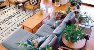 16+ Thrilling Natural Home Decor Living Room Ideas