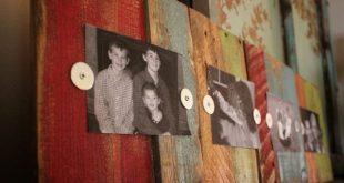 Colorful Scrap Wood Frame bec4-beyondthepic...