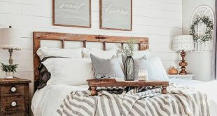 Farmhouse Master Bedroom - #bedroom #farmhouse #master -#Genel