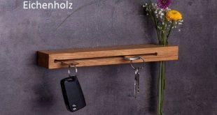 Handgefertigtes Schlüsselbrett mit Blumenvase// Schlüsselhaken // verschiedene Varianten // Geschenke für Männer // Geschenke für Frauen