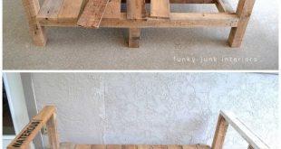 Wie baute ich das Palettenholzsofa (Teil 2)