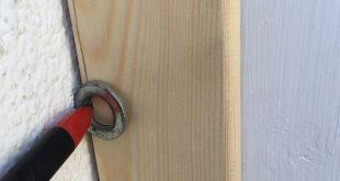 Miniprojekt - Holz an krumme Wand anpassen - Bauanleitung zum Selberbauen - 1-2-...