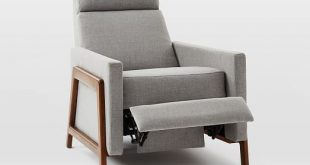 Spencer Wood-Framed Upholstered Recliner