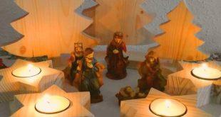 Adventskranz aus Holz – Bauanleitung
