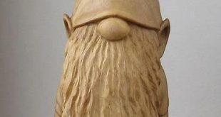 Bildergebnis für Wood Carving Patterns for Beginners Gnome #beginnerwoodworking… #WoodWorking
