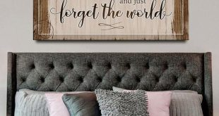 Couples Wall Art: If I Just Lay Here (Wood Frame Ready To Hang)