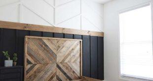 DIY Reclaimed Wood Bed - West Elm Inspired