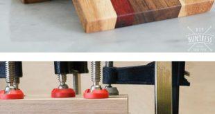 DIY Schrott Holz Untersetzer sind ein tolles Geschenk in dieser Ferienzeit. DIY Jägerin Schar … #WoodWorking