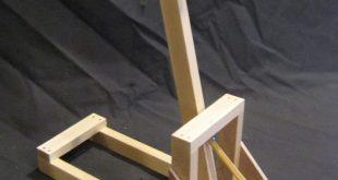 Details zum Katapult-Kit # 1 SIX PACK - vorgeschnittene Teile aus Holz Modell 12...