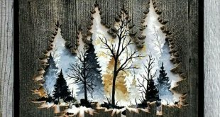 Gorgeous! Recreate something similar with Lovely as a Tree ...