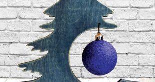 Kühle Diy hölzerne Weihnachtsbaum-Ideen.
