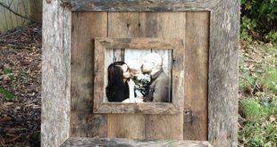 Natürliche 8 x 10 Scheune Holz Bilderrahmen von JMacDesignFrames auf Etsy, $ 15...