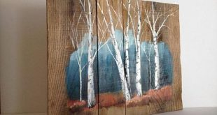 Pallet Painting, Distressed Wood Art, Pallet Art