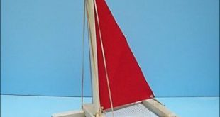 SAILBOAT, Toy Sailboat,Wood Toy Boat,Easter Gift,Pool Toy, Wooden Toy, Heirloom Toy, Catamaran, Sailboat, Wood Boat, Wooden Sailboat