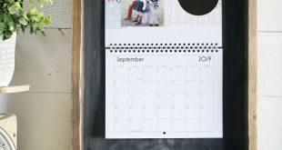 Wood Calendar Holder