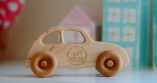 """Wooden toy car 