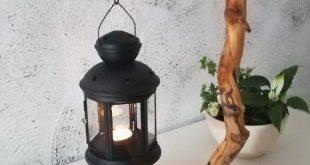 groß einzigartige tisch tee lampe leuchter treibholz laterne holz